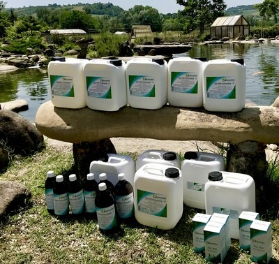 Prodotti per la cura dell'acqua Luca Ceredi Koi Farm