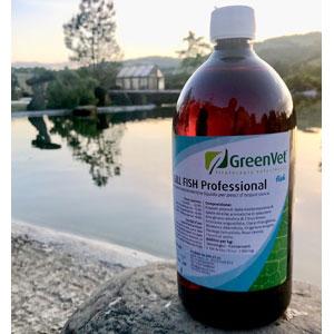 1 litro biocondizionatore GreenVet Gill Fish Professional
