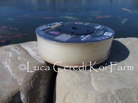 Tubo in silicone per Aria : Bobina intera (100 m)