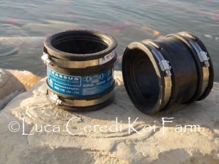 Adattatore cilindrico in epdm ø 100/115 mm