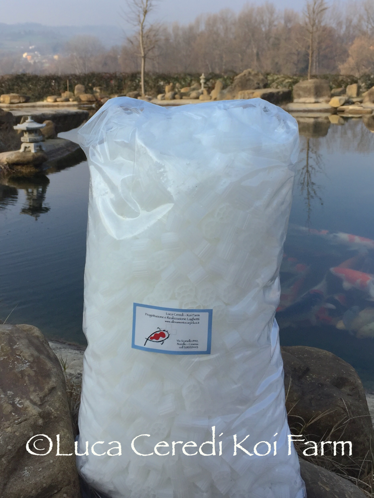 Bio carrier per filtri a moving bed 15 litri